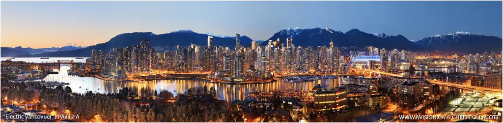 PA312-Electric-Vancouver-Skyline-False-Creek-BC-Canada-Downtown-City-Panoramic-Panorama-Chris-Collacott-avision.ca_